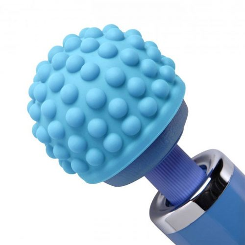 Blue Massage Bumps Silicone Attachment